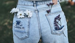 Luźniejsze jeansy dodadzą ci stylu i ukryją niedoskonałości figury