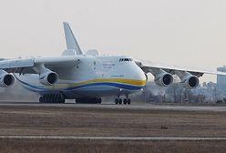Start największego samolotu świata. Antonov AN-225 wzbija się w powietrze [WIDEO]