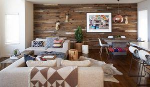 Efektowne oblicza drewna na ścianie
