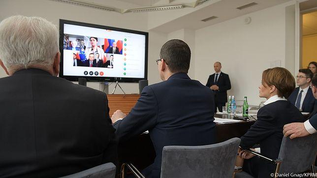 Koronawirus w Polsce. Premier Mateusz Morawiecki rozmawiał z opozycją