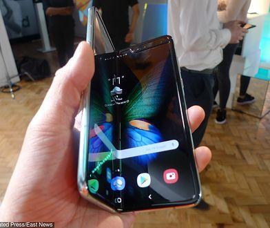 Samsung Galaxy Fold psuje się po rozłożeniu ekranu