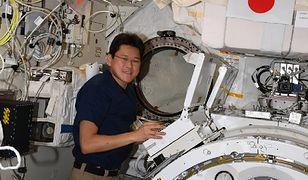 Astronauta urósł 9 cm w 3 tygodnie. Ma spędzić w kosmosie jeszcze pół roku