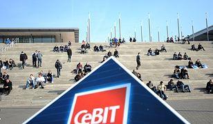 Kosmiczny uczestnik targów CeBIT w Hanowerze