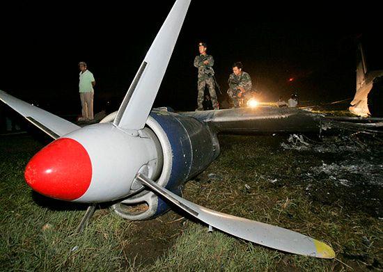 Katastrofa rosyjskiego samolotu - zdjęcia