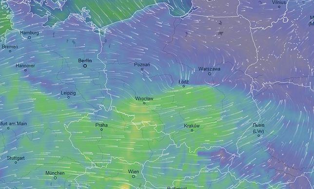Meteorolodzy ostrzegają przed silnymi podmuchami