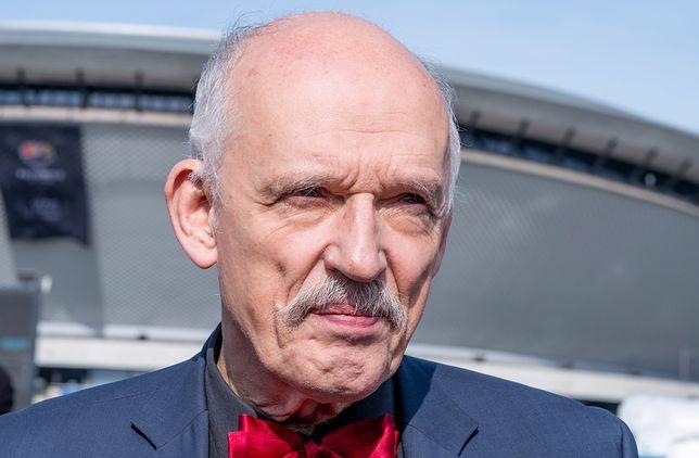 Korwin-Mikke został ukarany za słowa w PE