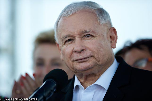 Piknik PiS w Dygowie. Jest Jarosław Kaczyński