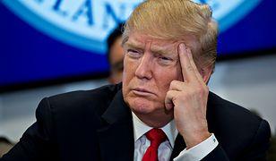 Donad Trump stanowczo potępił sprawcę