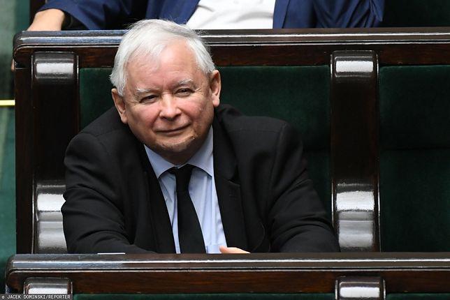 Prezes PiS Jarosław Kaczyński w Sejmie (zdj. arch.)