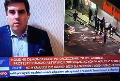 """Ośmieszająca wpadka. Tak TVP pokazało """"protest kobiet"""""""