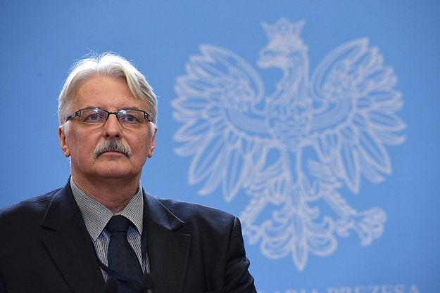 MSZ wydało komunikat ws. wywiadu z Witoldem Waszczykowskim