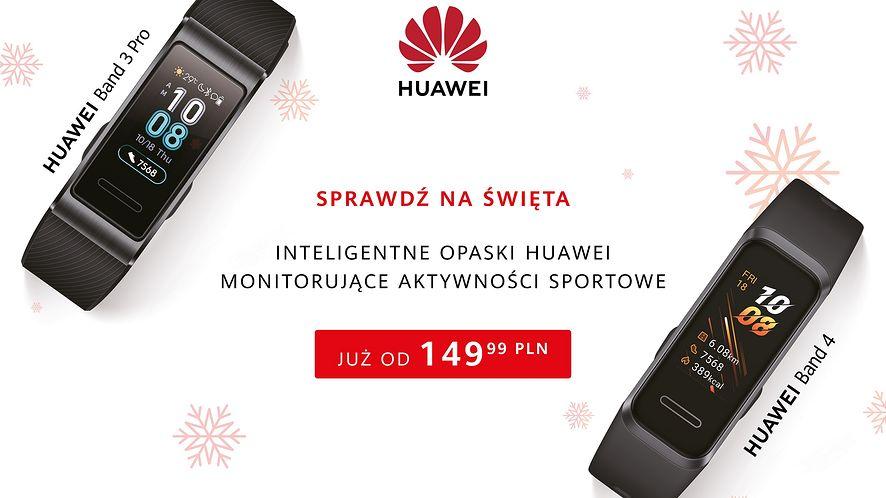 Opaski Huawei w niższych cenach na święta