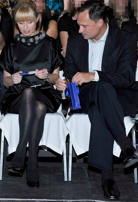 Jolanta Pieńkowska i Leszek Czarnecki