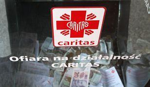 Termin zbiórki na rzecz Caritas miał być już zaplanowany wcześniej