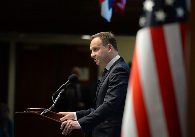 Marcin Makowski: Spotkanie Dudy z Obamą w alternatywnej rzeczywistości