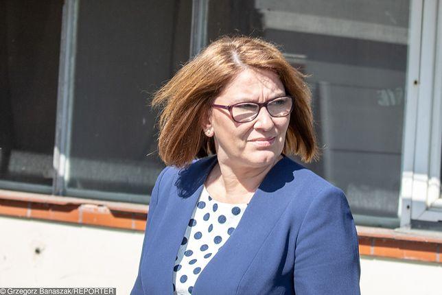 """Strajk nauczycieli 2019 r. Beata Mazurek nie ustępuje. """"Nie mam za co przepraszać"""""""