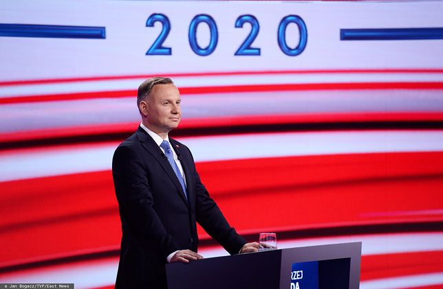 Debata prezydencka TVP. Andrzej Duda prostuje słowa o szczepieniach (zdjęcie ilustracyjne)