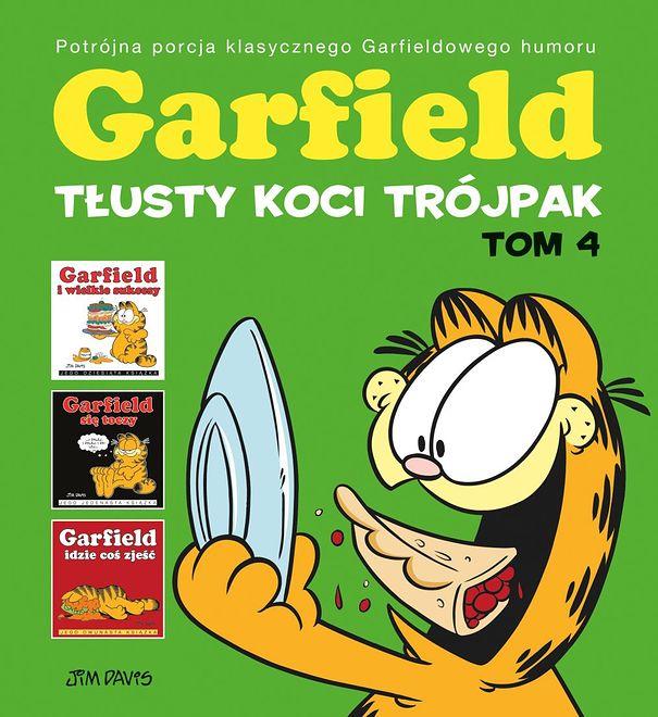 Garfield. Tłusty koci trójpak. Tom 4