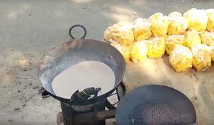 Według hindusów smażenie w piasku jest tak samo dobre, jak w oleju