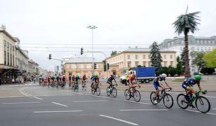 Komunikacyjny paraliż miasta. Fatalna organizacja Tour de Pologne
