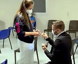 Pielęgniarki wzięły udział w spisku. Zaskoczył dziewczynę w punkcie szczepień