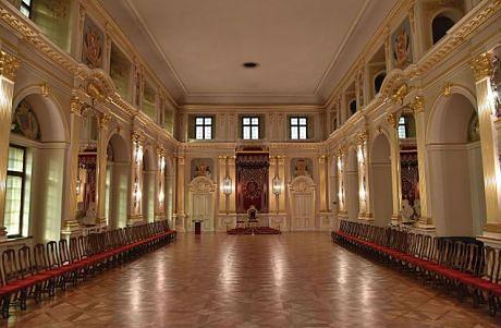 Połączone stany obradują w Sali Senatorskiej na warszawskim Zamku Królewskim
