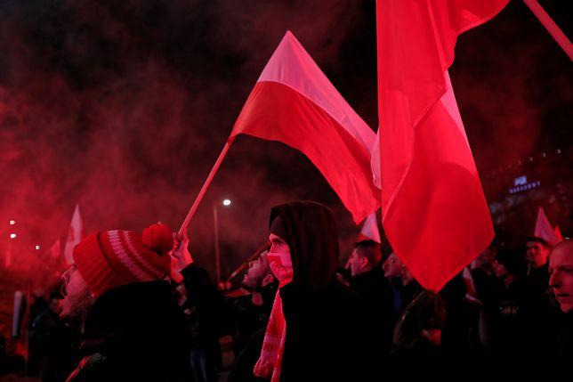 Marsz Niepodległości 11 listopada 2019.