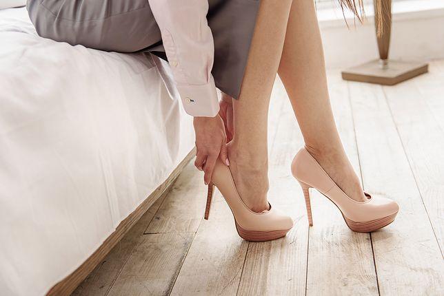 Eleganckie szpilki to wymagające buty