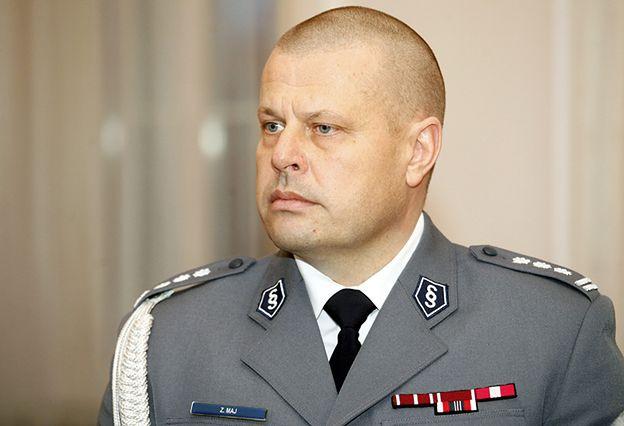Afera wokół komendanta głównego policji inspektora Zbigniewa Maja. Neumann: to uderza w powagę i zaufanie do policji