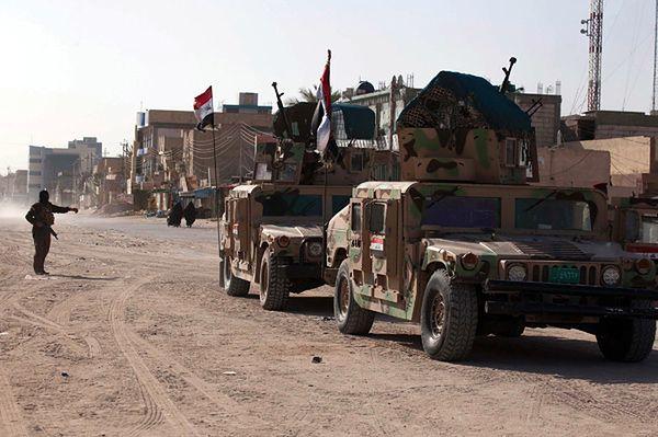Irackie wojska w Karbali
