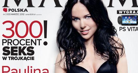 Paulina Sykut na okładce Maxima