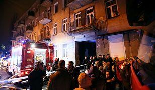 Jednak nie wybuch granatów? Nowe fakty ws. przyczyny pożaru kamienicy na warszawskiej Pradze