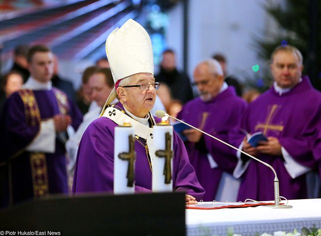 Homilię na pogrzebie Pawła Adamowicza wygłosił abp Leszek Sławoj Głódź