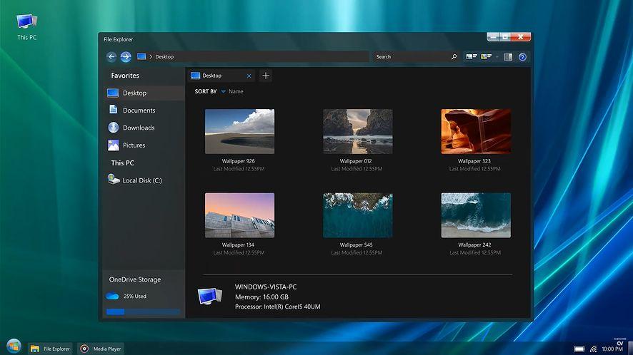 Windows Vista Remastered Edition, źródło: Addy Visuals/YouTube
