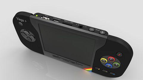 ZX Spectrum jako podręczna konsolka z wbudowanym wyświetlaczem