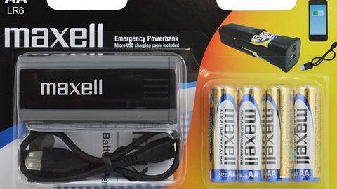 Maxell prezentuje powerbank zasilany bateriami AA