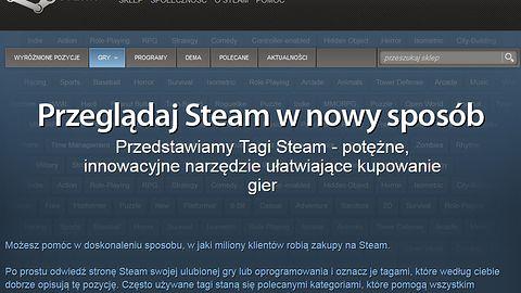 Nowy sposób tagowania na Steamie ma ułatwić szukanie gier