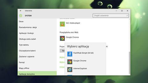 Microsoft eksperymentuje z ustawieniami aplikacji domyślnych w Windows 10