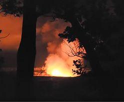 Nagle ziemia zaczęła się trząść. Wielki wybuch na Hawajach