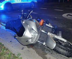 Dramat w lubuskim. Motocyklista potrącił 12-latka na pasach