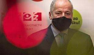 Koronawirus. Czechy. Minister zdrowia Roman Prymula pożegna się ze stanowiskiem