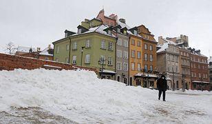 Pogoda. Warszawa. W środę nadal opady śniegu