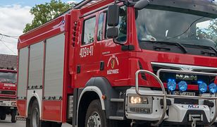 Mazowieckie. Ciężarówka zmiażdżyła samochód osobowy w pobliżu Sochaczewa. Śmierć poniosło pięć osób
