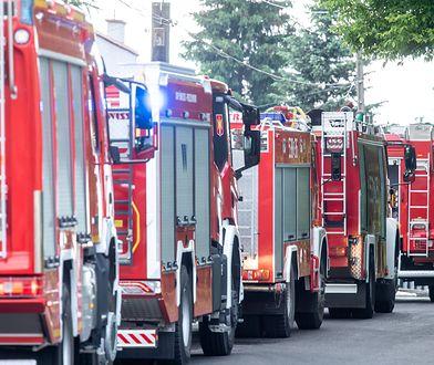 Warszawa. Zawaliły się trzy piętra kamienicy na Pradze