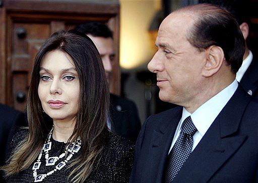 Żona Silvio Berlusconiego wystąpiła o rozwód