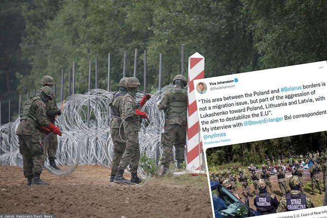 Polska buduje płot na granicy z Białorusią. Jest reakcja Komisji Europejskiej