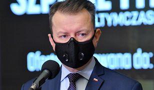 Koronawirus w Polsce. Mariusz Błaszczak o szpitalu tymczasowym na Okęciu w Warszawie