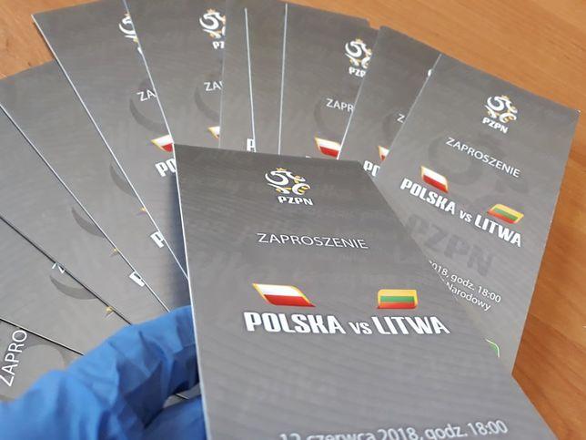 Skradziono 40 biletów VIP wart 2,4 tys. złotych.