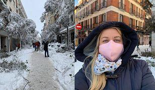 """Hiszpania. Polka mieszkająca w Madrycie opisuje sparaliżowane miasto. """"Wszystko całkowicie zasypane"""""""
