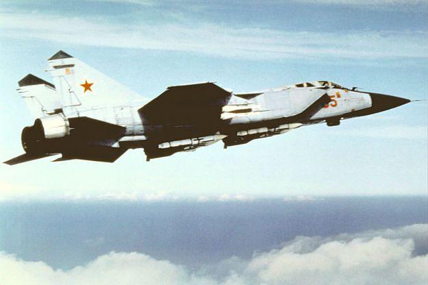 Rosyjska armia zgubiła samolot. Trwają poszukiwania MiG-31